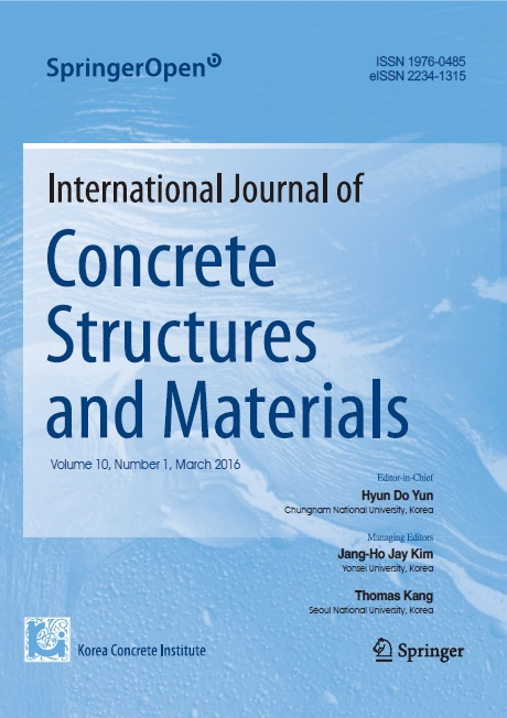International Journal of Concrete Structures and Materials<br> 2016년 03월호